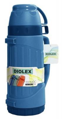 Термос Diolex DXP-1000-1-B 1л синий
