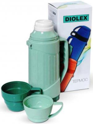 Термос Diolex DXP-600-1-G 0.6л зеленый