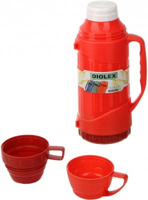 Термос Diolex DXP-600-1-R 0.6л красный термос diolex dxp 3200 1 r 3 2l