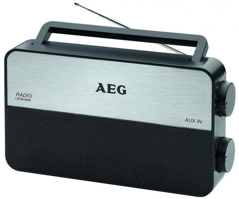 Радиоприемник AEG TR 4152 черный магнитола aeg sr 4353 черный красный