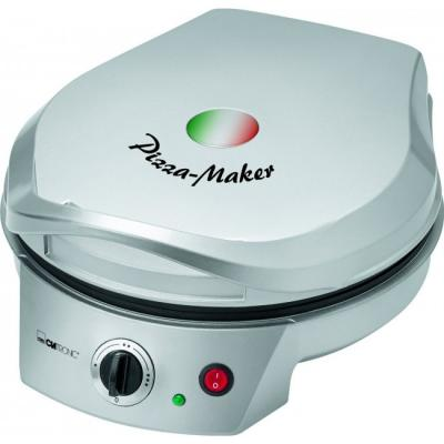 Прибор для приготовления пиццы Clatronic PM 3622 серебристый вафельница clatronic pm 3622 silver