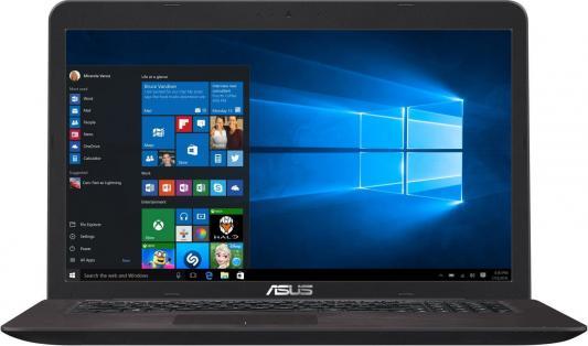Ноутбук ASUS X756UV-TY388T 17.3 1600x900 Intel Core i3-7100U 90NB0C71-M04370 ноутбук asus x756uv 17 3 intel core i3 6100u 2 3ghz 4gb 500gb hdd 90nb0c71 m00810