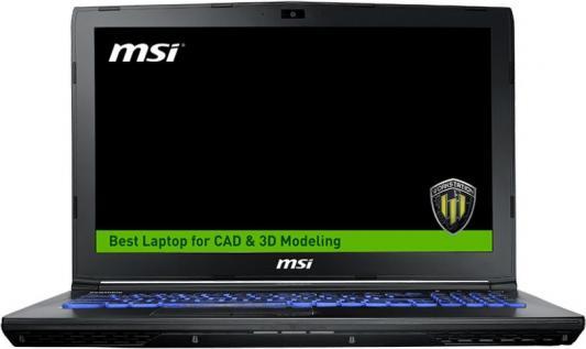 Ноутбук MSI WE62 7RJ-1879RU 15.6 1920x1080 Intel Core i7-7700HQ 9S7-16J572-1879 ноутбук msi gs43vr 7re 094ru phantom pro 9s7 14a332 094