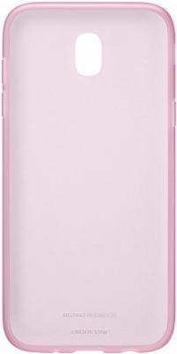 Чехол Samsung EF-AJ730TPEGRU для Samsung Galaxy J7 2017 Jelly Cover розовый чехол для samsung galaxy j7 2017 samsung jelly cover ef aj730tfegru