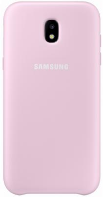 Чехол Samsung EF-PJ730CPEGRU для Samsung Galaxy J7 2017 Dual Layer Cover розовый чехол samsung ef pj530cpegru для samsung galaxy j5 2017 dual layer cover розовый