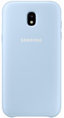 Чехол Samsung EF-PJ730CLEGRU для Samsung Galaxy J7 2017 Dual Layer Cover голубой цены онлайн