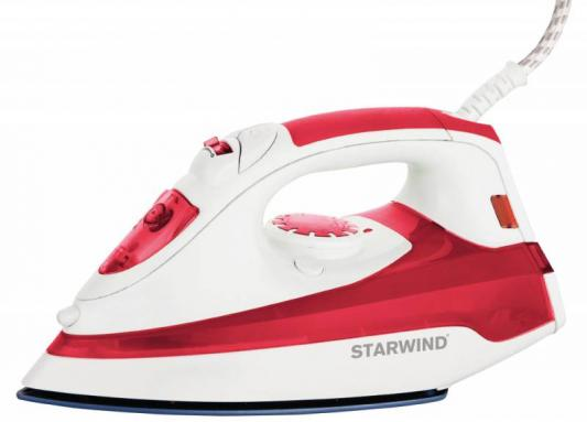 Утюг StarWind SIR5824 2200Вт красный белый