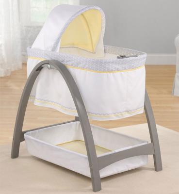 Кроватка-люлька Summer Infant BentWood (графит) summer infant люлька summer infant bentwood с электронной системой укачивания