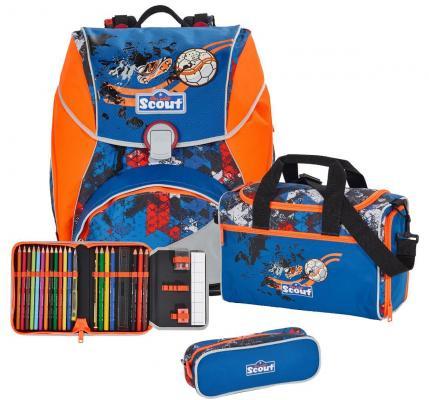 Ранец с наполнением Scout ГОЛ! 744006-996 17 л разноцветный