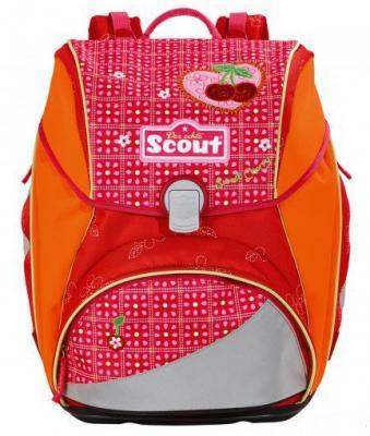 Ранец с наполнением Scout ALPHA СПЕЛАЯ ВИШНЯ 744107-972 18.5 л красный оранжевый