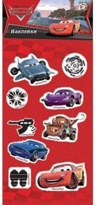 Наклейки объемные ACTION! CARS 17,5*9см CR-AD06006