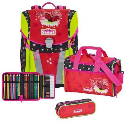 Ранец с наполнением Scout SUNNY ЛЕТНИЙ ДЕНЬ 734108-645 15.5 л разноцветный