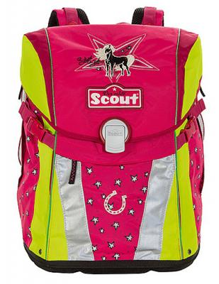 Ранец ортопедический Scout SUNNY СЕРЕБР ЗВЕЗДА 493500-629 разноцветный