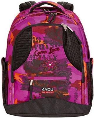 Рюкзак ортопедический 4YOU Compact Камуфляж 26 л черный розовый 112901-535 4you compact 26 112901 233