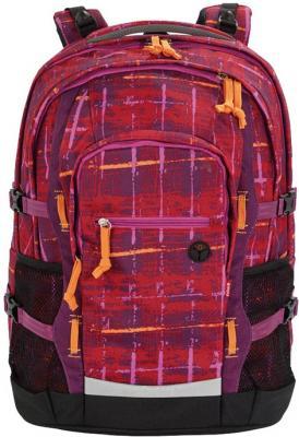 Рюкзак ортопедический 4YOU Jampac Винтаж 30 л черный красный 115501-892