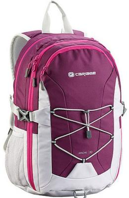 Купить Рюкзак светоотражающие материалы CARIBEE Apache 30 л малиновый белый, белый, малиновый, полиэстер, Ранцы, рюкзаки и сумки