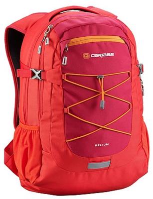 цена Рюкзак ортопедический CARIBEE Helium 30 л красный