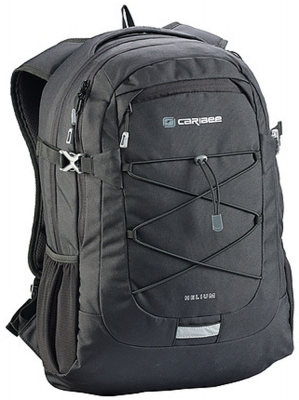 Рюкзак ортопедический CARIBEE Helium 30 л черный рюкзак caribee comet черный 32 л