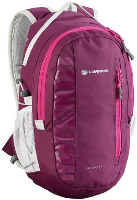 Рюкзак ортопедический CARIBEE Hot Shot 8 л малиновый рюкзак caribee comet черный 32 л