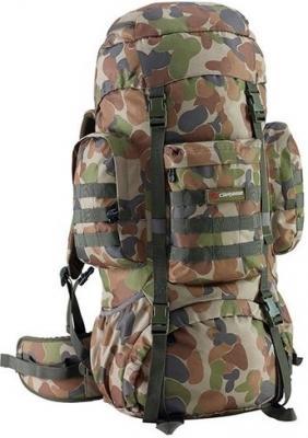 Рюкзак с анатомической спинкой CARIBEE Platoon 70 защитный 70 л серый зеленый рюкзак с анатомической спинкой caribee x trek 28 28 л черный оранжевый 6382