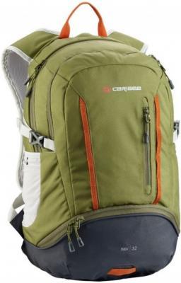 Рюкзак с анатомической спинкой CARIBEE Trek 32 л оливковый черный рюкзак с анатомической спинкой caribee x trek 28 28 л черный оранжевый 6382