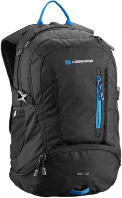 Рюкзак с анатомической спинкой CARIBEE Trek 32 л черный