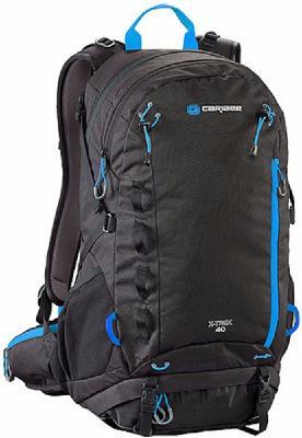 Рюкзак с анатомической спинкой CARIBEE X-trek 40 л черный синий рюкзак с анатомической спинкой caribee x trek 40 л черный синий