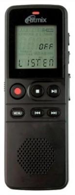 Цифровой диктофон Ritmix RR-810 4Гб черный ritmix ritmix rf 7200 фиолетовый 4гб