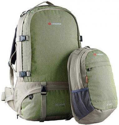 Рюкзак для путешествий ручка для переноски CARIBEE Jet Pack 75 75 л оливковый от 123.ru