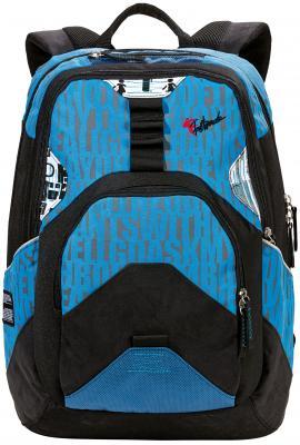 Городской рюкзак FASTBREAK Письма 23 л синий 124300-122 рюкзак городской нейлон power in eavas 9065 blue в киеве
