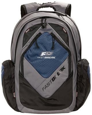 Городской рюкзак с отделением для ноутбука FASTBREAK 127600-257 25 л темно-синий рюкзак городской нейлон power in eavas 9065 blue в киеве