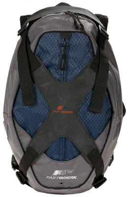 Купить Рюкзак FASTBREAK 127000-257 10 л темно-синий, полиэстер, нейлон, Ранцы, рюкзаки и сумки