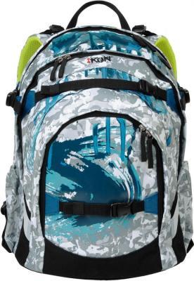 Рюкзак с уплотненной спинкой IKON 000200-11 30.5 л бирюзовый голубой
