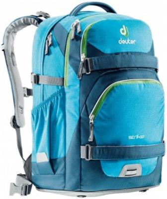 все цены на Школьный рюкзак с креплением для скейта Deuter STRIKE 32 л бирюзовый онлайн