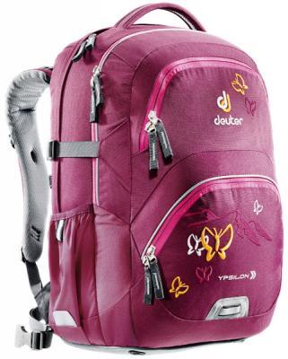 Школьный рюкзак Deuter YPSILON БОРДОВАЯ БАБОЧКА 28 л бордовый рюкзак deuter giga цвет коричневый фиолетовый 28 л