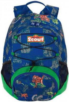 Рюкзак ручка для переноски Scout VI Тиранозавр 11.5 л синий рисунок 253301-698 рюкзак astro gaming scout
