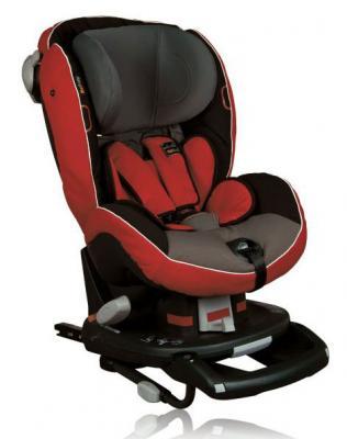 Автокресло BeSafe iZi-Comfort X3 Isofix (fresh red/grey)