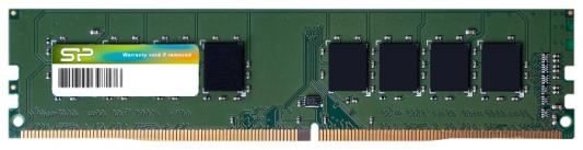 Оперативная память 8Gb (1x8Gb) PC4-19200 2400MHz DDR4 DIMM CL17 Silicon Power SP008GBLFU240B02 оперативная память 8gb 1x8gb pc4 19200 2400mhz ddr4 dimm cl17 patriot psd48g240081