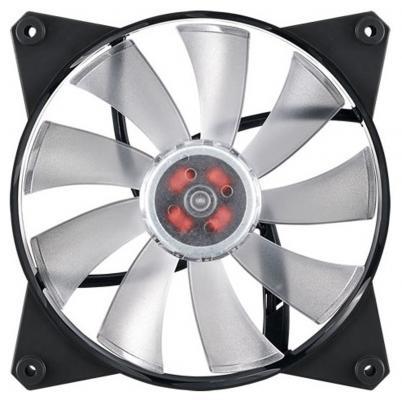 Вентилятор Cooler Master Master Fan Pro 140Air Pressure RGB MFY-P4DN-15NPC-R1 140x140x25mm 650-1550rpm cooler master cooler master masterfan pro 140 air pressure