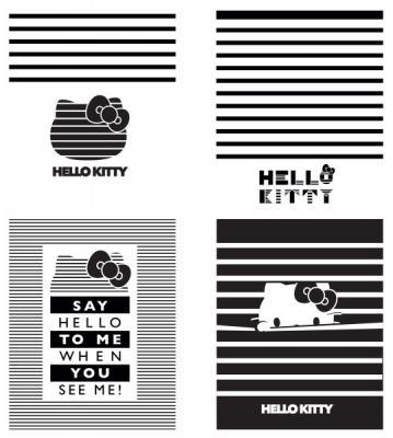"""Тетрадь общая Action! """"HELLO KITTY"""" 48 листов клетка скрепка HKO-AN-4801/5-2"""