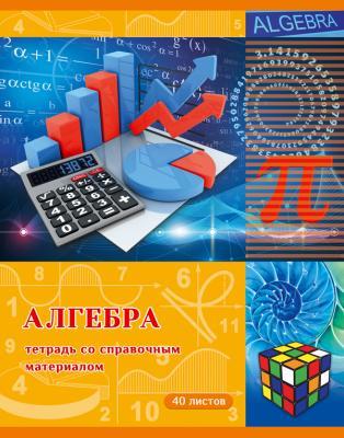 Тетрадь ученическая Би Джи Страна знаний - алгебра 40 листов клетка скрепка Т5ск40 3066