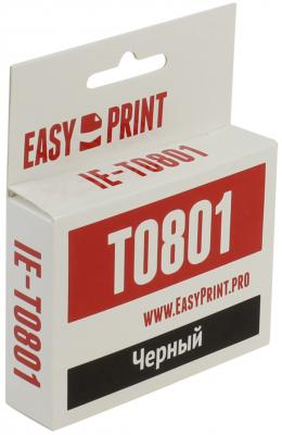 Картридж EasyPrint IE-T0801 C13T0801 для Epson Stylus Photo P50/PX660/PX720WD/PX820FWD черный
