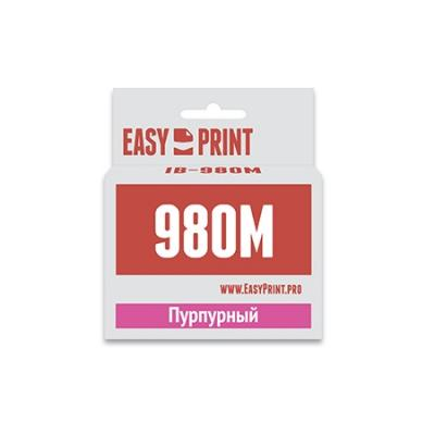 Картридж EasyPrint LC-1100M/980M для Brother DCP-145C/375CW/MFC-250C/990CW пурпурный IB-980M
