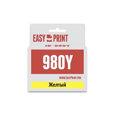 Картридж EasyPrint LC-1100Y/980Y для Brother DCP-145C/375CW/MFC-250C/990CW желтый IB-980Y