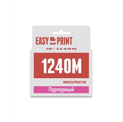 Картридж EasyPrint LC-1240M для Brother DCP-J525W/MFC-J430W/J825DW/J5910DW пурпурный IB-1240M