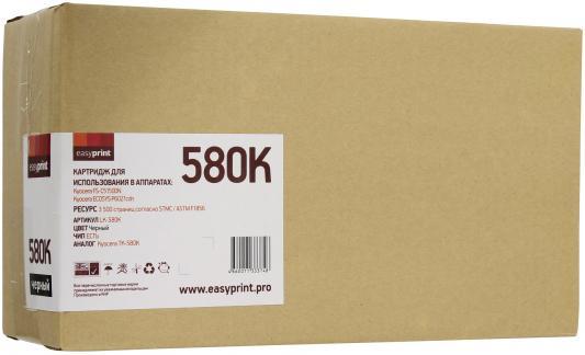 все цены на  Картридж EasyPrint TK-580K для Kyocera FS-C5150DN/ECOSYSP6021 черный 3500стр LK-580K  онлайн