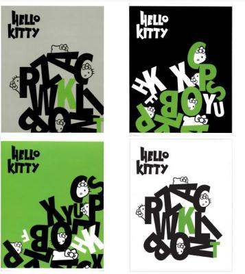 Тетрадь общая Action! HELLO KITTY 96 листов клетка скрепка тетрадь общая action hello kitty hko an 4801 5 3 48 листов клетка скрепка