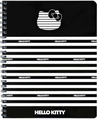 Тетрадь общая Action! Hello Kitty 80 листов клетка гребень HKO-ANS 8001/5-2