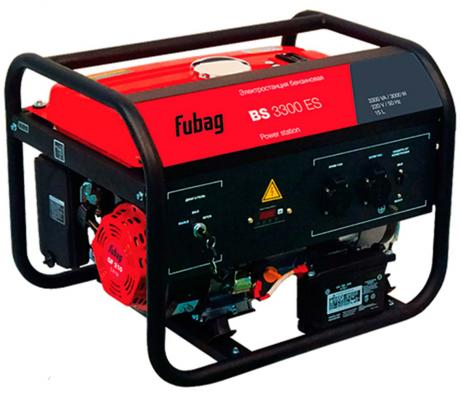 Генератор Fubag BS 3300 ES бензиновый бензиновый генератор hyundai hhy3000f в белгороде