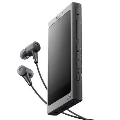 Плеер Sony NW-A35HN 16Гб черный от 123.ru